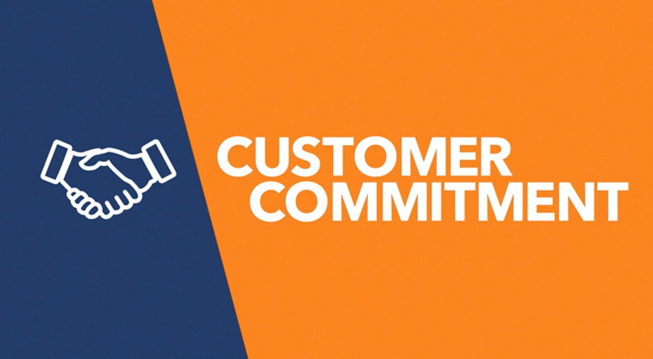 Customer Commitment Title Image
