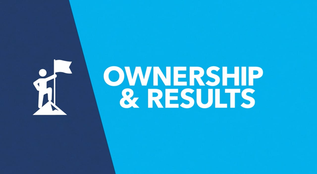 Ownership & Results Title Image