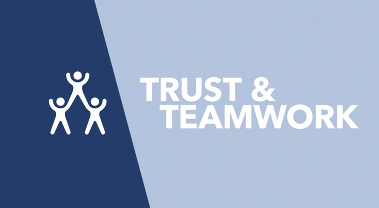 Trust and Teamwork Title Image